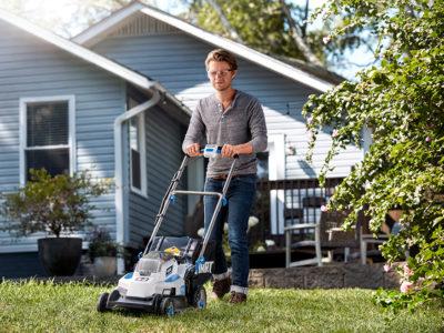 HART 20-Volt 16-Inch Push Lawn Mower