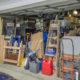 A garage full of storage