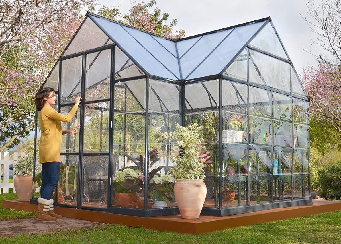 Palram Four Season Chalet Hobby Greenhouse