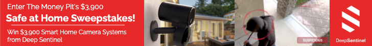 Enter the Safe at Home Sweepstakes and win Deep Sentinel cameras