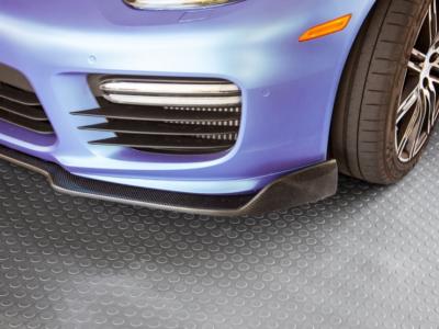 coin patterned garage floor mat