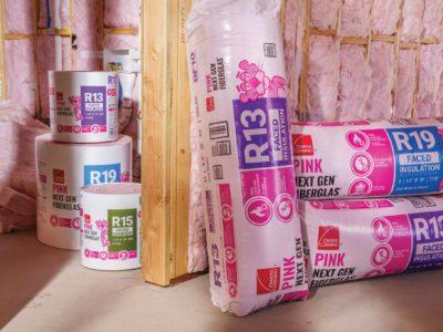 PINK Next Gen Fiberlgas insulation - product shot