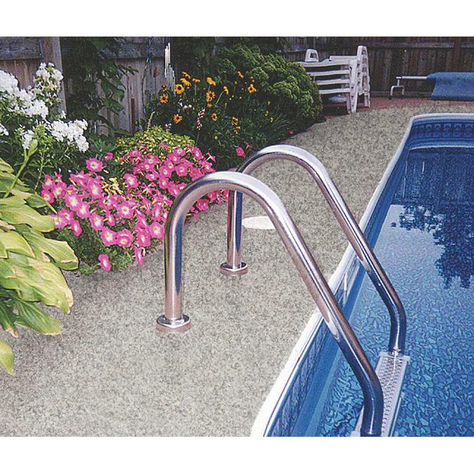 Terrazzo coating on pool deck